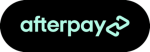afterpay button green black logo